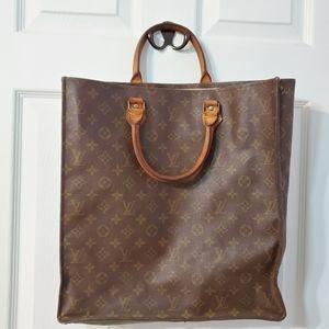 Louis Vuitton Sac Plac Large Tote Bag Brown